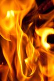 bakgrundsbrand Fotografering för Bildbyråer