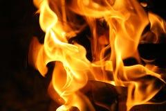 bakgrundsbrand Arkivfoton