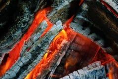 bakgrundsbrand flamm hög bildupplösning Arkivfoto