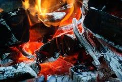 bakgrundsbrand flamm hög bildupplösning Fotografering för Bildbyråer
