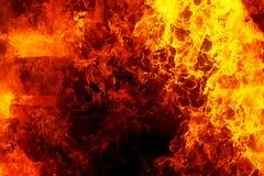 bakgrundsbrand flamm hög bildupplösning Original- flamma och grafisk effekt Arkivfoto