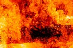 bakgrundsbrand flamm hög bildupplösning Original- flamma och grafisk effekt Arkivbilder