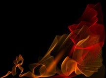 bakgrundsbrandrörelse Arkivfoto