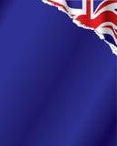 bakgrundsbritish flagga Royaltyfri Fotografi