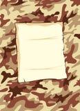 bakgrundsbrownkamouflage Vektor Illustrationer