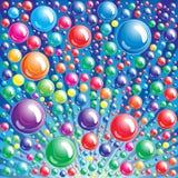 bakgrundsbubbla royaltyfri illustrationer