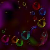 bakgrundsbubblor Vektor Illustrationer