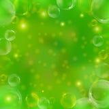 bakgrundsbubblor Royaltyfri Fotografi