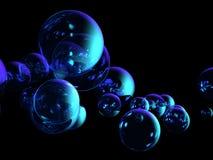 bakgrundsbubblor Arkivbilder