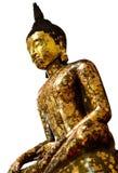 bakgrundsbuddha white Arkivfoto