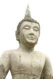 bakgrundsbuddha white Royaltyfri Fotografi