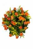 bakgrundsbuketter cards den dekorativa blom- vektorn för blommaillustration två Arkivbilder