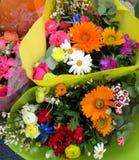 bakgrundsbuketter cards den dekorativa blom- vektorn för blommaillustration två Arkivbild