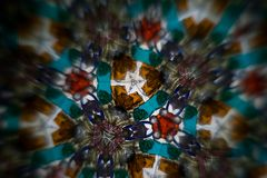 bakgrundscaleidoscop Royaltyfri Bild