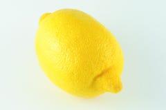 bakgrundsclipping inom citronbanawhite Fotografering för Bildbyråer