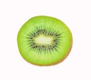 bakgrundsclosefrukt isolerade kiwien över övre white Arkivbild