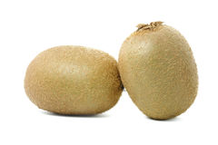 bakgrundsclosefrukt isolerade kiwien över övre white Arkivfoton