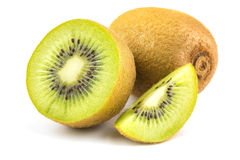 bakgrundsclosefrukt isolerade kiwien över övre white royaltyfria foton