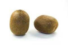 bakgrundsclosefrukt isolerade kiwien över övre white Arkivbilder