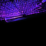 bakgrundscopyspaceteknologi Arkivbilder