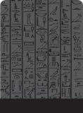 bakgrundsdark egypt stock illustrationer