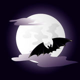 bakgrundsdark halloween Arkivbild