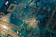 bakgrundsdator Fotografering för Bildbyråer