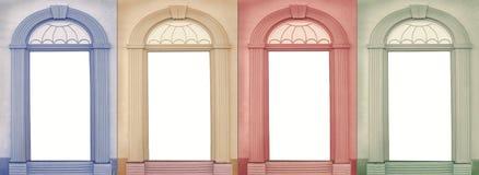 Bakgrundsdesign fyra säsonger Royaltyfria Bilder