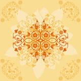 bakgrundsdesignelement blommar vektorn Arkivfoton
