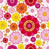 bakgrundseaster blom- seamless royaltyfri illustrationer