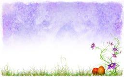 bakgrundseaster fjäder Royaltyfria Bilder