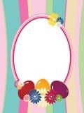 bakgrundseaster ram Royaltyfri Foto