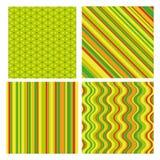 bakgrundseaster seamless set vektor illustrationer