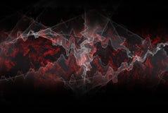 bakgrundsenergifractal Arkivbild