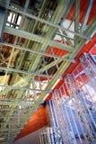 bakgrundsexponeringsglasmetall Arkivbild