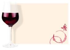 bakgrundsexponeringsglasrött vin Royaltyfria Bilder