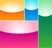 bakgrundsfärg vektor illustrationer