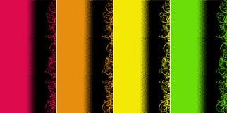 bakgrundsfärg curves sidan Arkivbild