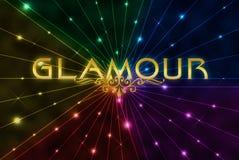 bakgrundsfärgglamour Royaltyfri Bild