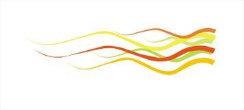 bakgrundsfärglinjer vektor Arkivbilder