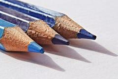 bakgrundsfärgmappen pencils vektorwhite Royaltyfri Bild