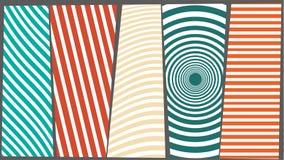 Bakgrundsfärgtextur med linjer Arkivfoto