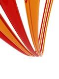 bakgrundsfärgtrådar Royaltyfri Bild