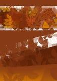bakgrundsfallleafen texturerade Arkivfoto