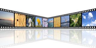 bakgrundsfilm Royaltyfria Bilder