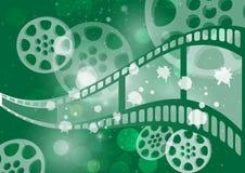 Bakgrundsfilm  stock illustrationer