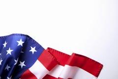 Bakgrundsflagga av Amerikas förenta stater för nationell federal ferieberöm och sörjande minnedag USA symbol Royaltyfri Foto