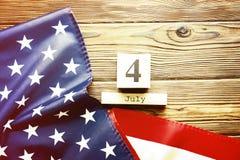 Bakgrundsflagga av Amerikas förenta stater för nationell federal ferieberöm av självständighetsdagen USA symbolics Royaltyfri Bild