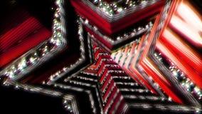 Bakgrundsflyg i science fictiontunnel framförande 3d Arkivbild