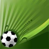 bakgrundsfotboll Royaltyfri Foto